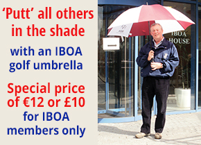 IBOA Golf Umbrellas
